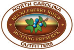 Huckleberry Ridge Hunting Preserve Logo